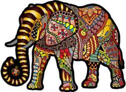 Magic Elephant M Elephants Double Sided Puzzle