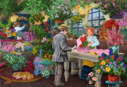 The Florist's L General Store Double Sided Puzzle