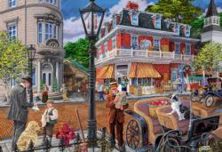 Main Street L Nostalgic / Retro Double Sided Puzzle
