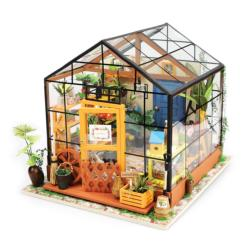 Flower House Domestic Scene 3D Puzzle