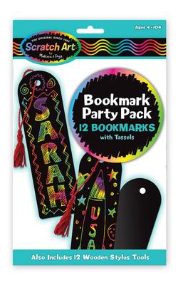 Bookmark Scratch Art Party Pack Dexterity Toy