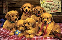 Unconditional Love Dogs Children's Puzzles