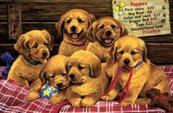 Unconditional Love Dogs Children's Puzzles