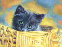 Basket Case Kittens Jigsaw Puzzle