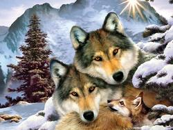 Wolf Harmony Wolves Jigsaw Puzzle