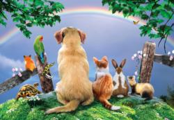 Over the Rainbow Dogs Jigsaw Puzzle