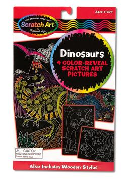 Color-Reveal Pictures - Dinosaurs Arts and Crafts