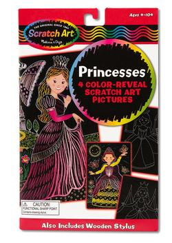 Color-Reveal Pictures - Princess Princess Arts and Crafts