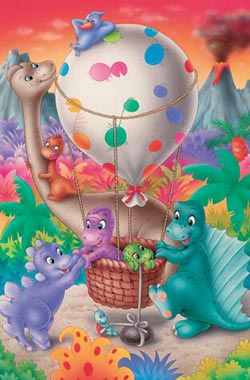 Dino Balloon Balloons Children's Puzzles