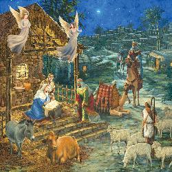 Visit to Bethlehem Religious Jigsaw Puzzle