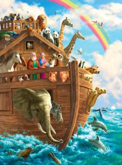 The End of the Storm Religious Jigsaw Puzzle