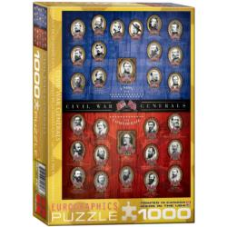 Civil War Generals Military / Warfare Jigsaw Puzzle