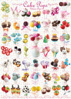 Cake Pops Pattern / Assortment Jigsaw Puzzle