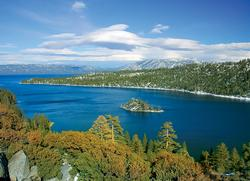 Emerald Bay - Lake Tahoe, CA Lakes / Rivers / Streams Jigsaw Puzzle