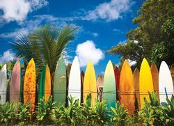 Surfer's Paradise, HI Hawaii Jigsaw Puzzle