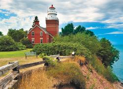 Big Bay Lighthouse, MI Lakes / Rivers / Streams Jigsaw Puzzle