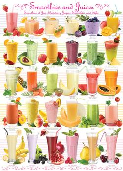 Smoothies & Juices Food and Drink Jigsaw Puzzle