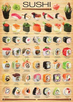 Sushi Pattern / Assortment Jigsaw Puzzle