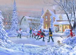 The Original Six Winter Jigsaw Puzzle