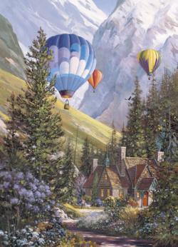Soaring with the Eagles Mountains Jigsaw Puzzle