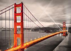 San Francisco Golden Gate Bridge Bridges Jigsaw Puzzle