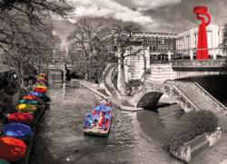 San Antonio River Walk Photography Jigsaw Puzzle