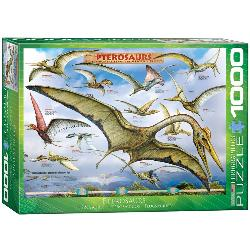 Pterosaurs Educational Jigsaw Puzzle