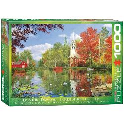 Lakeside Reflections Lakes / Rivers / Streams Jigsaw Puzzle