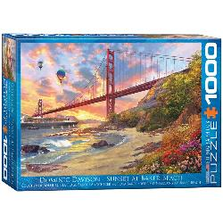 Baker Beach, California Bridges Jigsaw Puzzle
