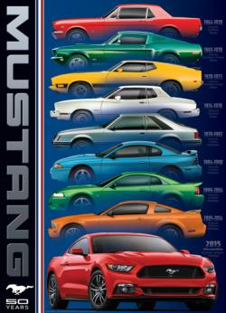 Ford Mustang 9 Model Pattern / Assortment