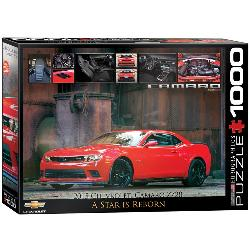 A Star is Reborn (2015 Chevrolet Camaro Z/28) Cars Jigsaw Puzzle