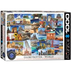 World (Globetrotter Collection) Travel Jigsaw Puzzle