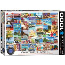 Beaches (Globetrotter Collection) Collage Jigsaw Puzzle
