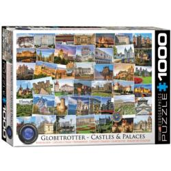 Castles & Palaces Collage Impossible Puzzle