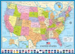 Map of the United States Geography