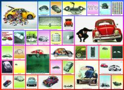 We've Done Things - VW Beetle Collage Jigsaw Puzzle