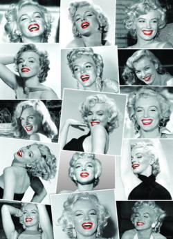 Marilyn Monroe by Bernard of Hollywood Collage