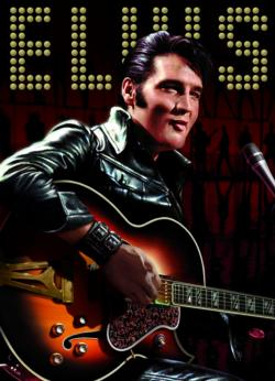 Elvis Portrait Photography Jigsaw Puzzle