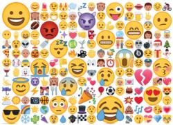 Emojipuzzle Pattern / Assortment Jigsaw Puzzle