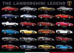 The Lamborghini Legend Pattern / Assortment Jigsaw Puzzle