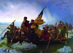 Washington Crossing the Delaware Boats Jigsaw Puzzle