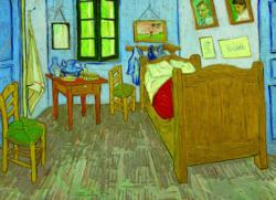 Bedroom in Arles Domestic Scene Jigsaw Puzzle