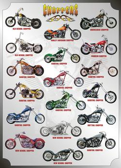 Choppers Pattern / Assortment Jigsaw Puzzle