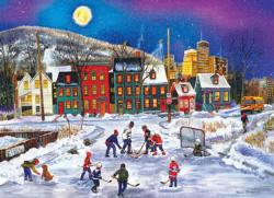 After School Fun Winter Jigsaw Puzzle