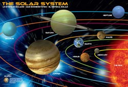 The Solar System Educational Jigsaw Puzzle