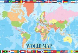 World Map Maps Jigsaw Puzzle
