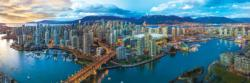 Vancouver British Columbia Canada Panoramic Puzzle