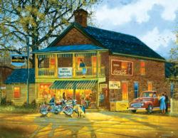Miss Martha's Country Store General Store Jigsaw Puzzle