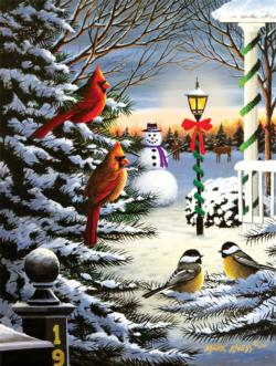 Holiday Friends Christmas Jigsaw Puzzle