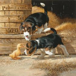 Getting Acquainted Farm Jigsaw Puzzle